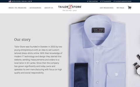 About Tailor Store