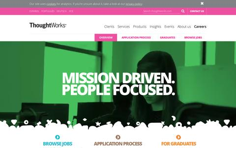 ThoughtWorks Careers | ThoughtWorks