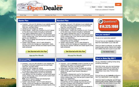 Screenshot of Signup Page yegga.com - Open Dealer Websites - Auto Dealer Websites, Dealer SEO, Dealer Management System, Automotive Dealer Web Solutions, Auto Dealer Web Design, Online Marketing Solutions For Automotive Dealers, Lead Management Tools, Inventory Management Software - Wind - captured Sept. 30, 2017