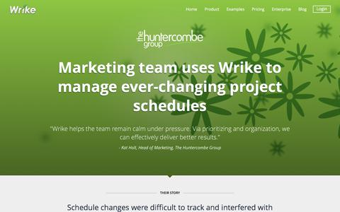 The Huntercombe Group Success Story | Wrike Customers