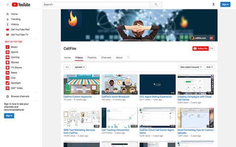 CallFire  - YouTube
