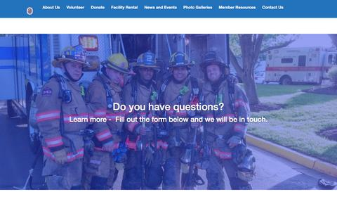 Screenshot of Signup Page wvrs.org - Join Now – Wheaton Volunteer Rescue Squad - captured Nov. 29, 2016