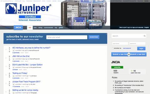 Juniper Networks Certified Associate