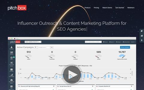 Pitchbox | Influencer Outreach & Link Building Platform for SEO Teams