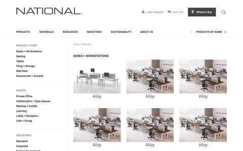 [ObjectName] Products | National Office Furniture