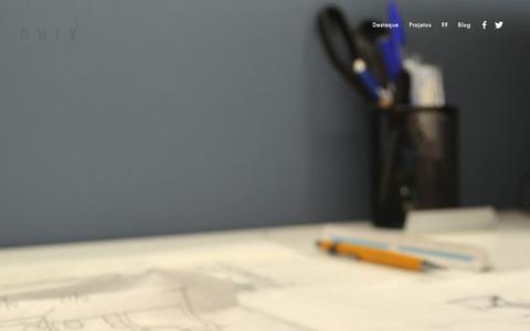 Screenshot of About Page guiv.com.br - ?? — GUIV Arquitetura - captured Oct. 22, 2014
