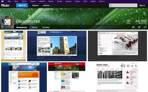 Screenshot of Flickr Page flickr.com - Flickr: Blicomm.net's Photostream - captured Oct. 23, 2014