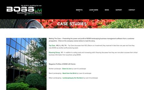 Case Studies  |  BOSS LM