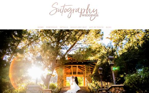 Screenshot of Pricing Page sutography.com - San Diego Wedding Photo and Video» Sutography Weddings - captured Oct. 25, 2017