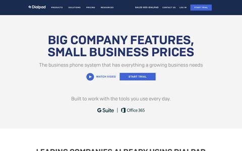 Small Business Phone Service   Dialpad