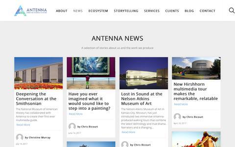 News - Antenna International