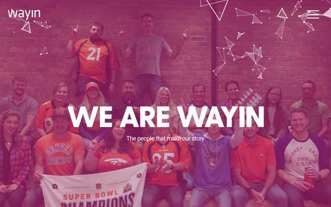 Wayin | Interactive Campaign Experiences | About Wayin