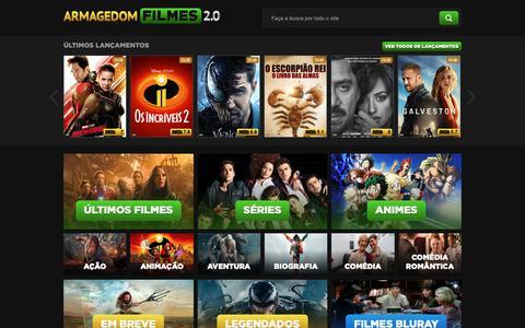 Screenshot of Home Page filmestorrent.info - Filmes Torrent - O melhor site de filmes BluRay Filmes Torrent - captured Nov. 8, 2018