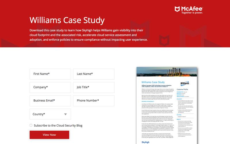 Williams Case Study