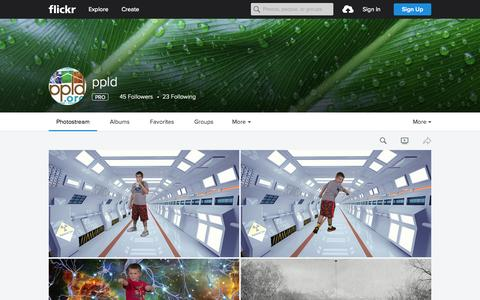 Screenshot of Flickr Page flickr.com - ppld | Flickr - Photo Sharing! - captured Oct. 1, 2015