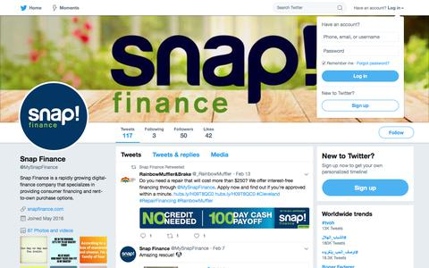 Snap Finance (@MySnapFinance) | Twitter