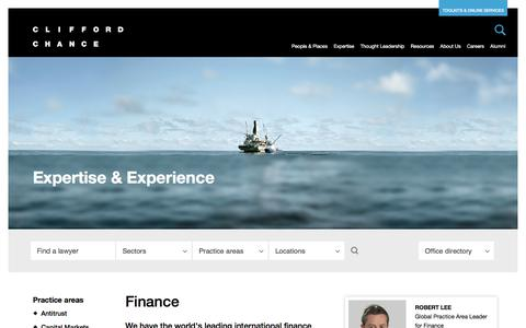 Clifford Chance | Finance
