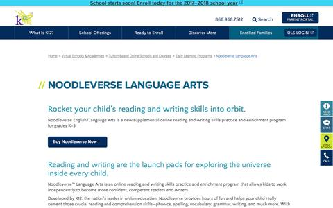 Early Learning Programs