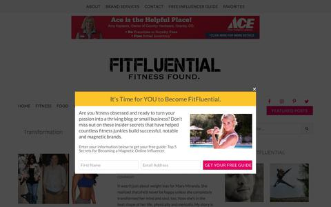 Transformation Archives - FitFluential