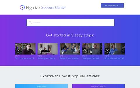 Highfive Success Center