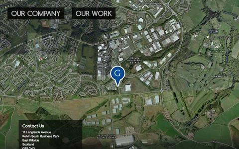 Screenshot of Contact Page glencairn.co.uk - Glencairn Crystal Studio | Contact Us - captured Oct. 30, 2014