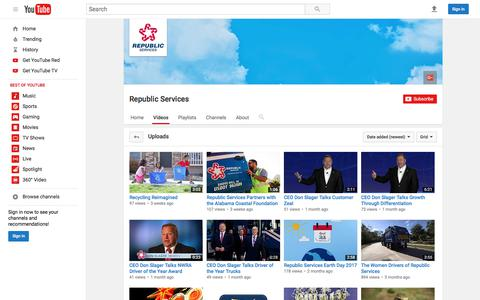 Republic Services  - YouTube