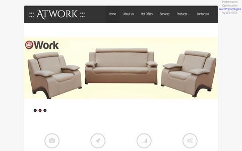 Screenshot of Home Page atwork-eg.com - ::: Atwork ::: - captured Sept. 10, 2015