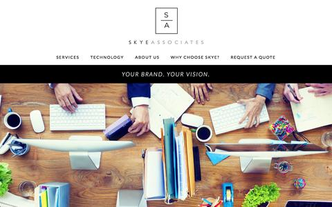 Screenshot of About Page skyeassociatesllc.com - About Us - captured Feb. 21, 2017