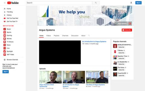 Angus Systems  - YouTube