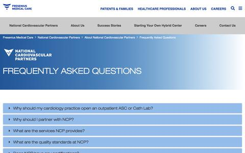 Screenshot of FAQ Page fmcna.com - Frequently Asked Questions | NCP - captured June 21, 2018