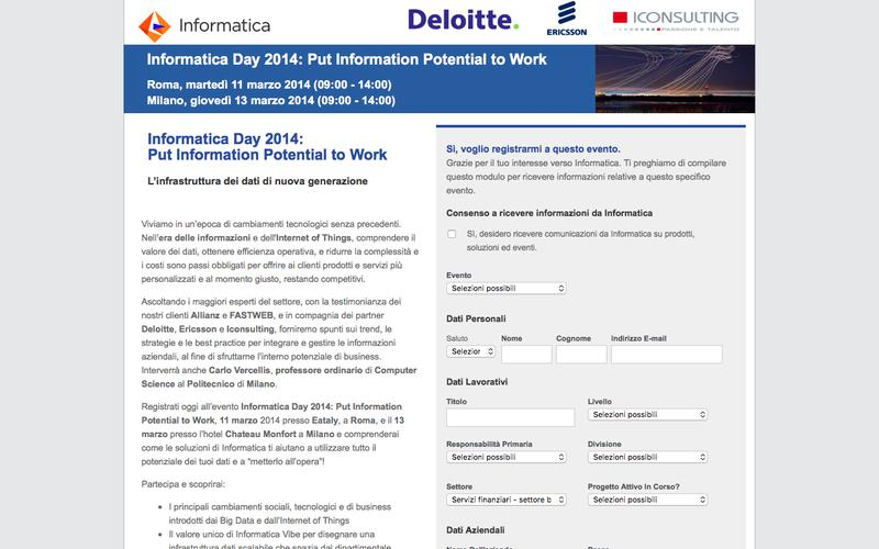 Informatica Day 2014: Put Information Potential to Work