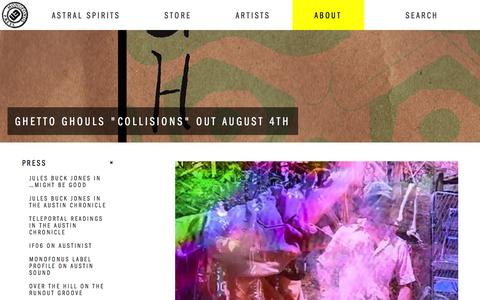 Screenshot of About Page Press Page monofonuspress.com - Monofonus Press | Press - captured Aug. 9, 2015