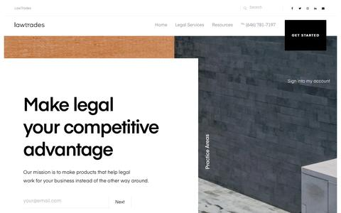 LawTrades - Affordable Lawyers on Demand & Online Business Legal Services