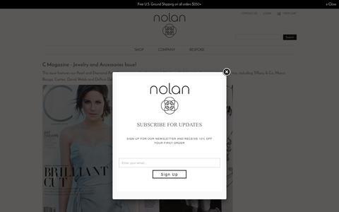Screenshot of Press Page stacynolan.com - Press   Stacy Nolan - captured Nov. 30, 2016