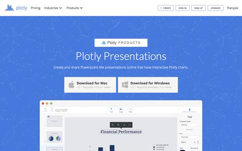 Powerpoint Online | Plotly | Make charts and dashboards online