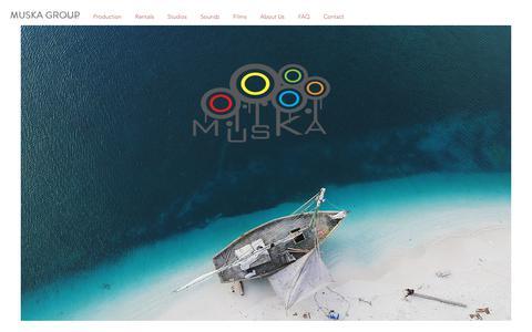 Screenshot of Home Page muskagroup.com - Muska Group - captured Nov. 17, 2018