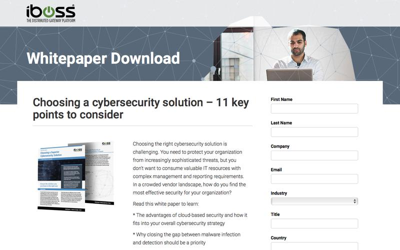 Choosing a cybersecurity solution - 11 key points to consider