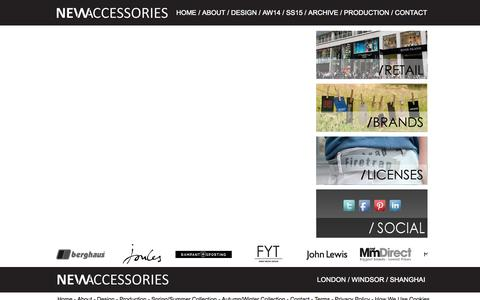 Screenshot of Jobs Page newaccessories-group.com - Jobs - new accessories - captured Oct. 7, 2014