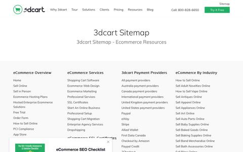 Ecommerce Resources - 3dcart