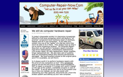 Screenshot of Blog computer-repair-now.com - Computer Repair Blog by Computer-Repair-Now.Com - captured Sept. 29, 2018