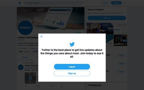 Tweets by Intelex Technologies (@Intelex) – Twitter