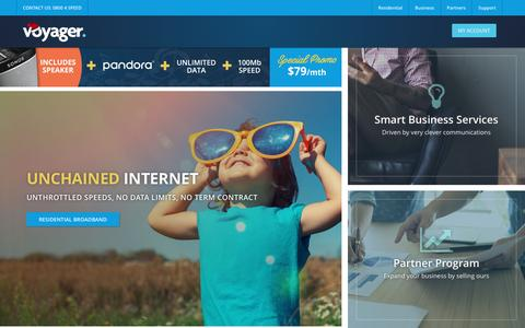 Quality Broadband Internet & Phone Provider | Voyager NZ