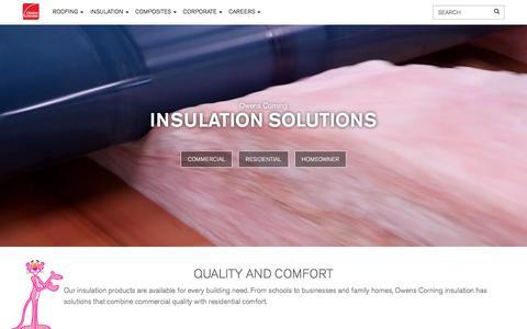 Insulation | Owens Corning