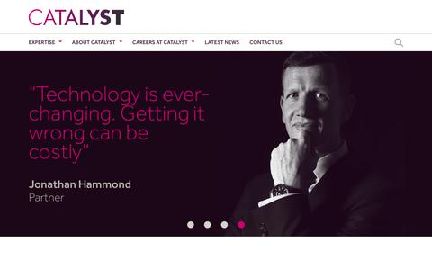 Screenshot of Team Page catalyst.co.uk - Profiles Archive - Catalyst Development Limited - captured Sept. 20, 2018