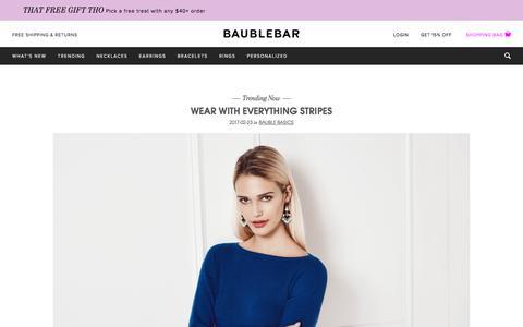 Blog   BaubleBar