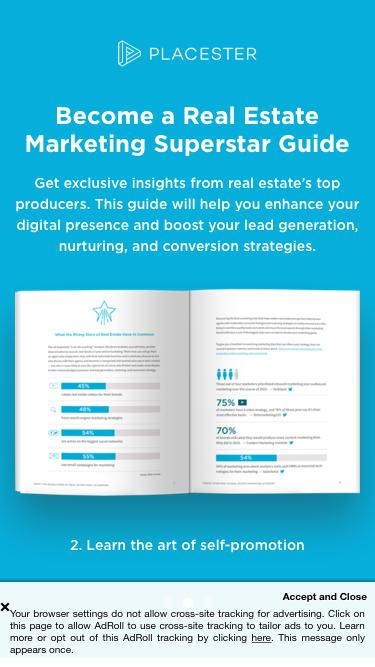 Become a Real Estate Marketing Superstar Guide | Placester