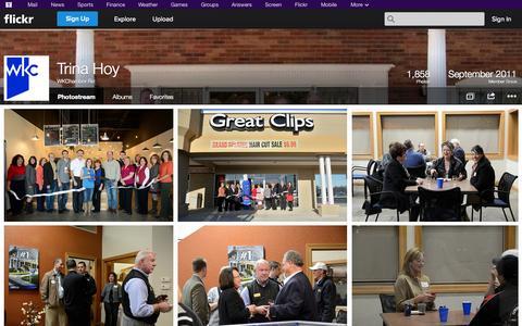 Screenshot of Flickr Page flickr.com - Flickr: WKChamber Biz's Photostream - captured Oct. 26, 2014