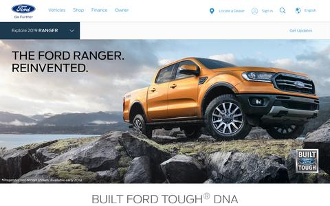 New 2019 Ford Ranger Midsize Pickup Truck | Back in the USA - Fall 2019 | Ford.com