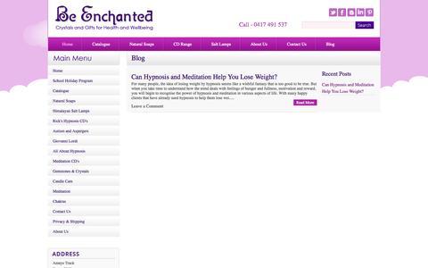 Screenshot of Blog beenchanted.com.au - Blog - captured Sept. 30, 2014