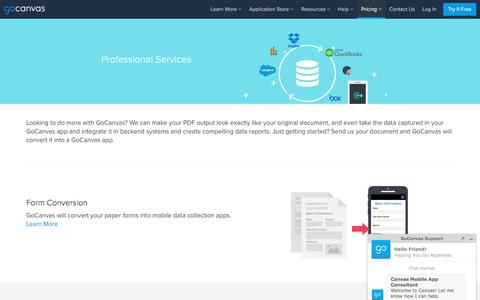 Canvas Professional Services
